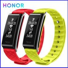 Honor kolor zespół A2 inteligentna opaska na rękę bransoletka fitness zespół IP67 OLED wiadomość zegar tętna wodoodporny monitor aktywności