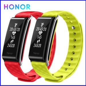 Image 1 - Onur renk bant A2 akıllı bileklik spor bilezik Band IP67 OLED mesaj kalp hızı saat su geçirmez aktivite izci