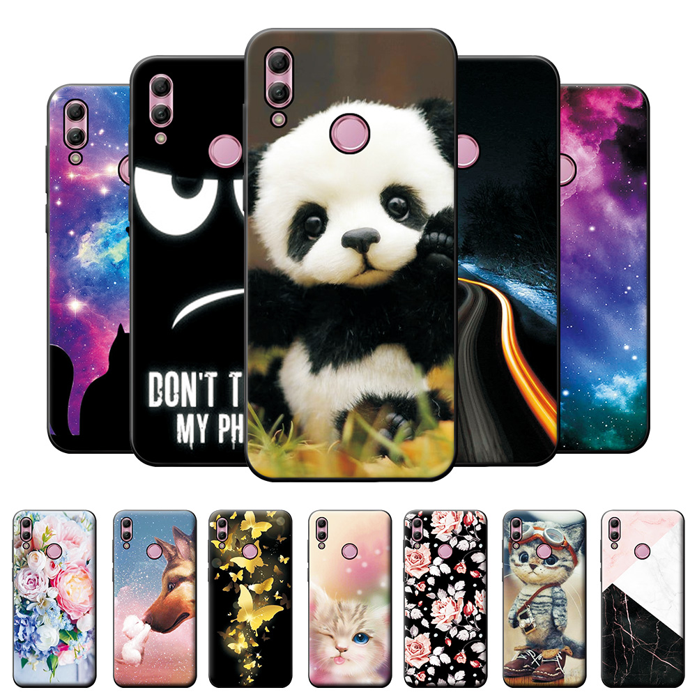 For Huawei P Smart 2019 Case on Honor 10 Lite Silicone Cover Case For Huawei P Smart 2019 Honor 10Lite Back Cover Case Phone Bag