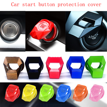Car Engine START STOP Button Replace Cover Switch For Honda Civic 2006-2011 Accord Fit CRV HRV City Jazz Subaru Forester Impreza image