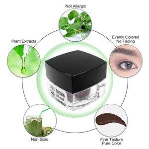 Image 3 - 9 шт. Новинка 100% растительный материал 3D микроблейдинг пигмент Перманентный макияж Чернила для бровей и губ татуаж инструмент для красоты макияжа