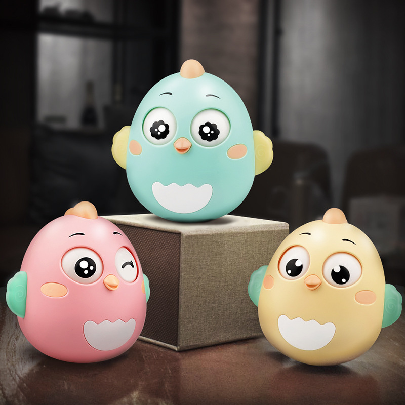 Baby Tumbler Toy Catch Grip 3-6 A Moon Newborn Comfort Early Education Gum Rattle Baby Toy