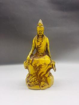 Fluorescent Home Decoration of Ancient Chinese Foot on Lotus Guanyin Honey Wax Belt
