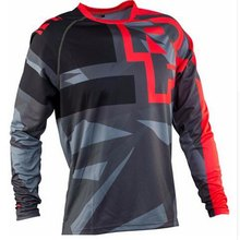2019 enduro RF Fietsen T-shirt Mountain Bike Downhill Lange Mouwen Racing Kleding DH MTB Offroad Motocross BMX Jerseys groothandel(China)