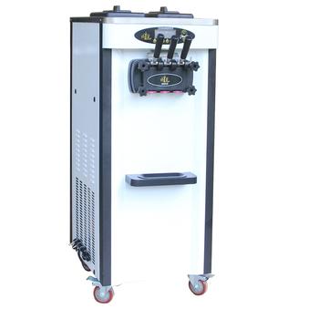 Handlowa ulica zimny napój sklep profesjonalna maszyna do lodów maszyna do lodów włoskich minimalna inwestycja tanie i dobre opinie Linboss 1501 ml BL25Q Chłodzenie powietrzem 6 5L *2 2000w 220V 110V 50 60 Hz 56*71 5*138cm 110kg R22 R410A