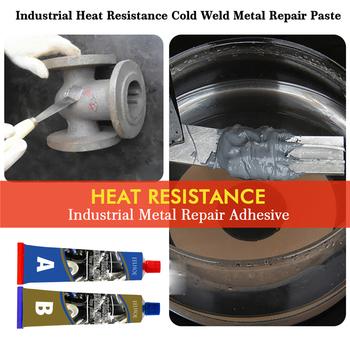 50g Metal plugs klej do naprawy rury zbiornika paliwa klej do naprawy Caster klej temperatura i odporność na olej klej klej Super klej tanie i dobre opinie CN (pochodzenie) Metal Repair Glue wholesale dropshipping