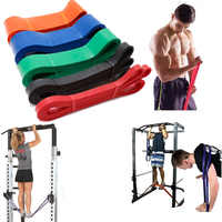 Exercices résistance bande 6 niveau Yoga entraînement renforcement caoutchouc Fitness elastiek élastique Latex boucle bandes poitrine extenseur