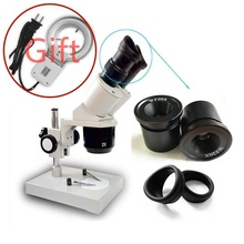 Stereo Microscope Binocular Cell-Phone-Repairing-Tool Eyepieces-Available WF15X WF20X