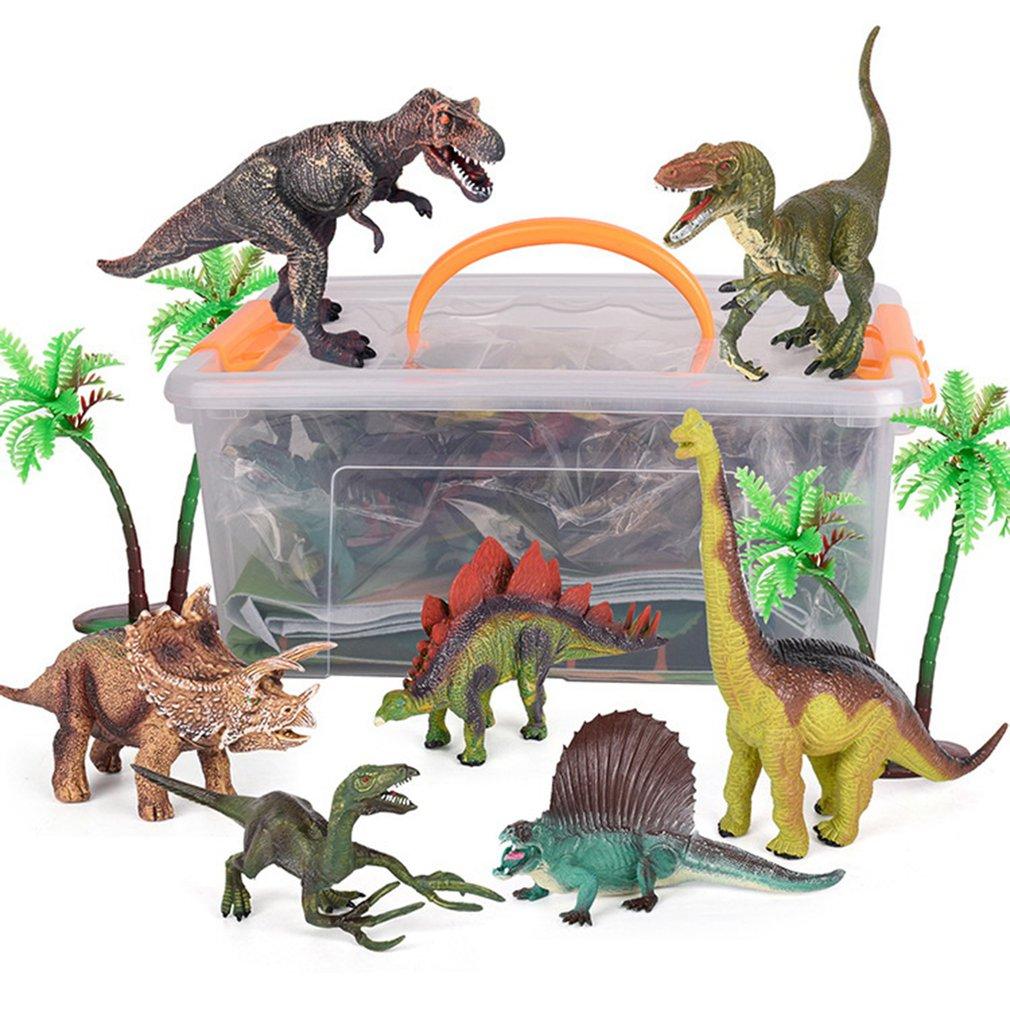 Anak Anak Dinosaurus Mat Mainan Simulasi Tyrannosaurus Model Dinosaurus Dunia Adegan Permainan Karpet Anak Anak Hadiah Lucu Aksi Toy Angka Aliexpress