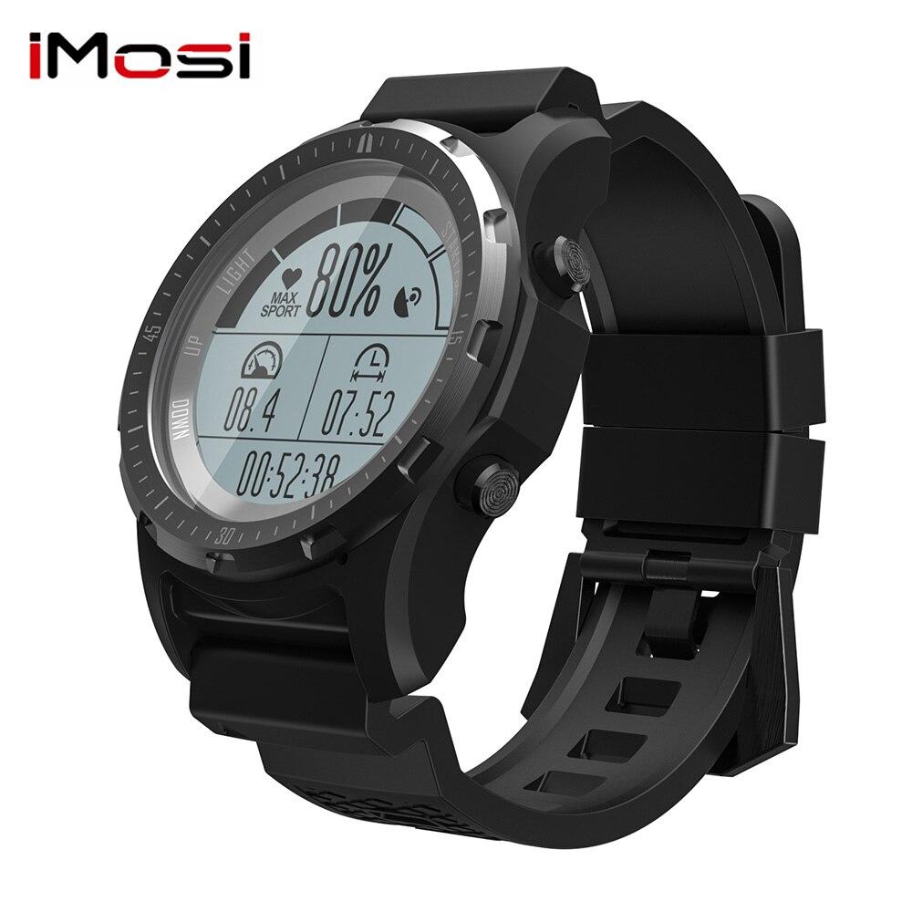 Imosi montre intelligente S966 prise en charge g-sensor GPS Notification Sport Mode montre-bracelet téléphone intelligent pour Android ios PK S928