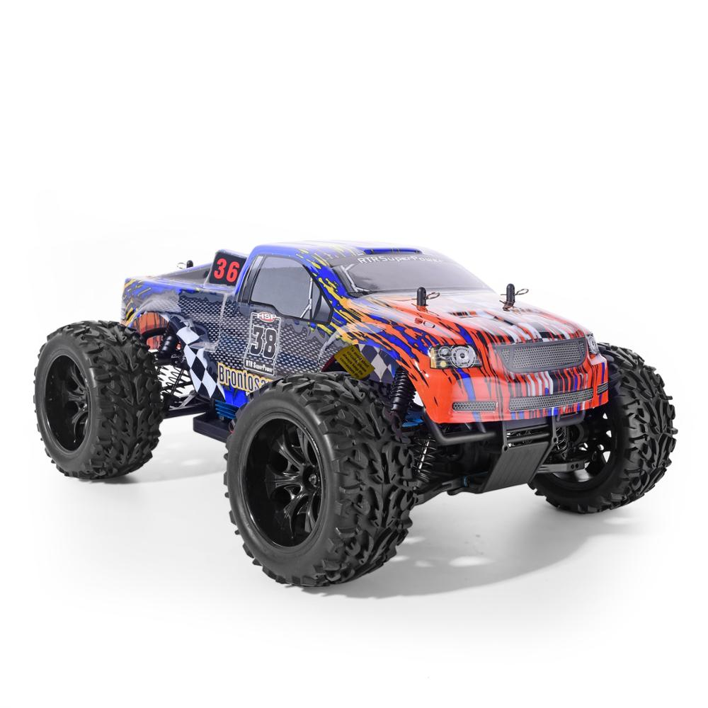 Image 2 - HSP Racing RC Car 4wd Off Road Trucks 94111 1/10 Scale Electric Power 4x4 vehicle Toys High Speed Hobby Remote Control CarRC Cars   -