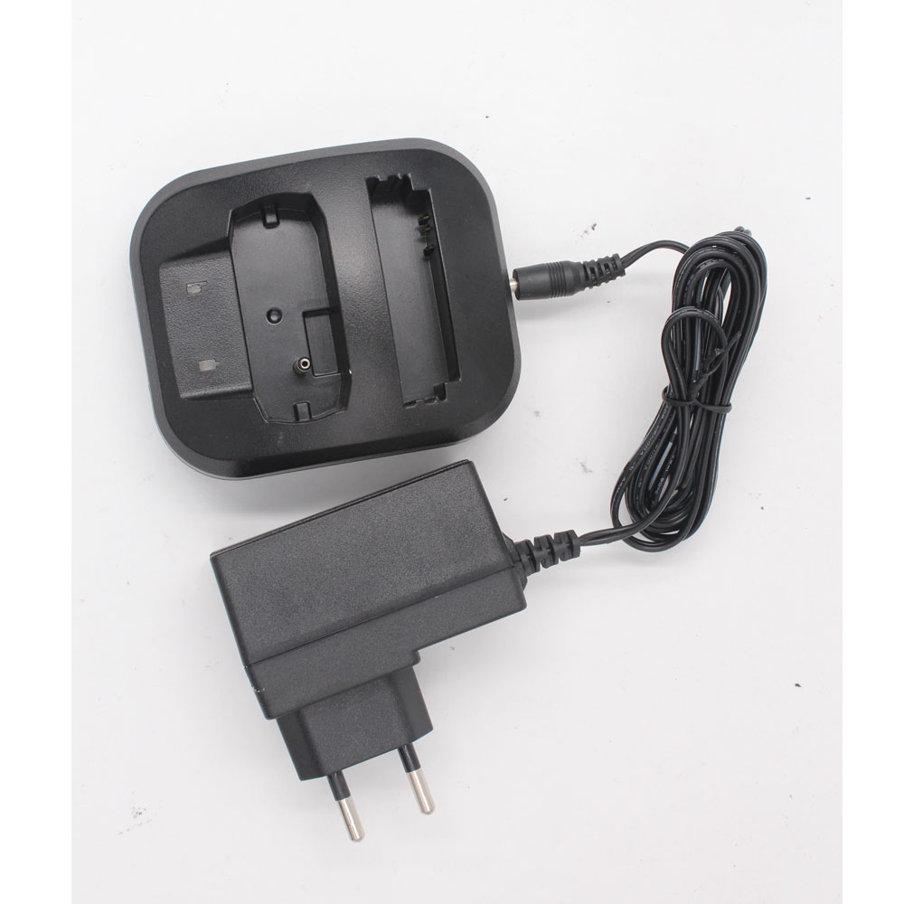 Dual Ports Charger With AC Power Adapter For BLN-10 BLN-11 Battery Of Tetra TH1N Radio And Airbus P8GR Pager