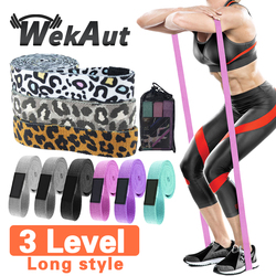 Unisex Booty Band Hip Circle Loop Fitness Long Fabric Resistance Band Set Workout Exercise for Legs Thigh Glute Butt Squat Band