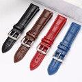 Uhr band Weiche Leder Echtes Leder-uhrenarmband 16mm 18mm 20mm 22mm 24mm Uhr Band für Tissot Seiko Rolex Casio dw uhr band
