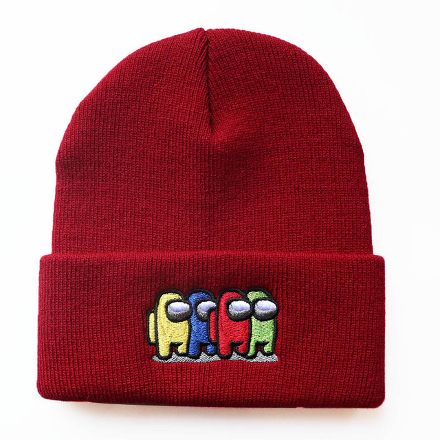 Kid's Among Us Knitted Hat 2
