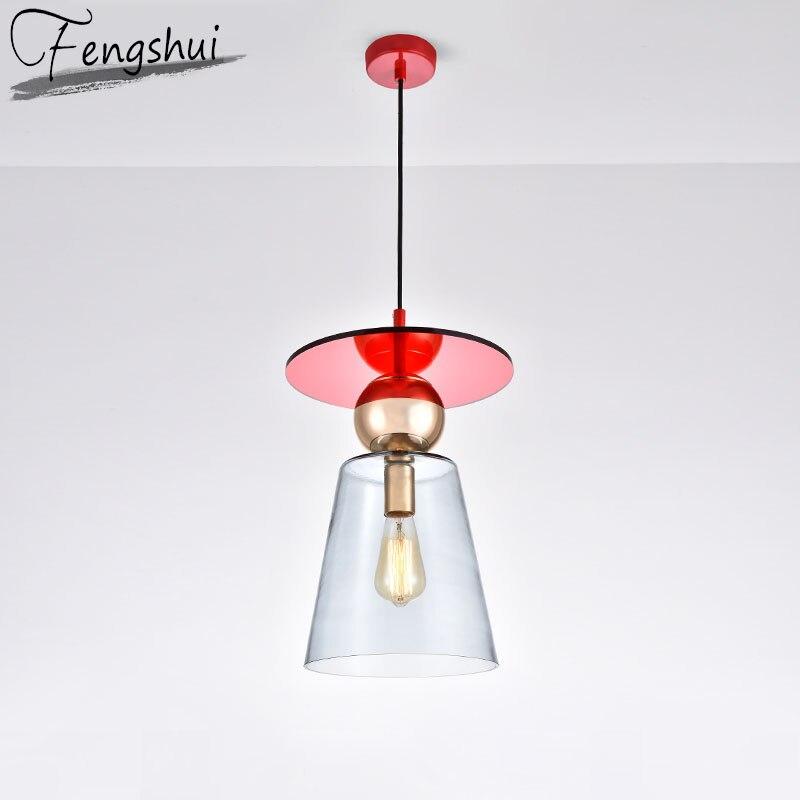 Nordic Glass Pendant Lights Lighting Design Pendant Lamp Dining Living Room Bedroom Loft Bar Restaurant Home Decor Hanging Lamp