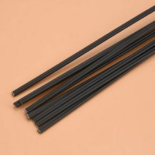 black L1m W 5mm PVC soldering wire roll plastic welding bumper feed car ship motorcycle free shipping