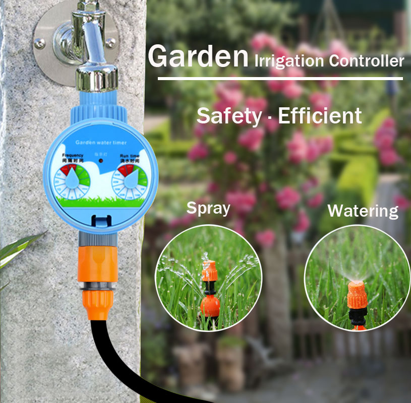 30M Drip Irrigat Automatic Garden Watering System Kits  Garden Irrigation Watering Kits Micro Drip Mist Spray Cooling System