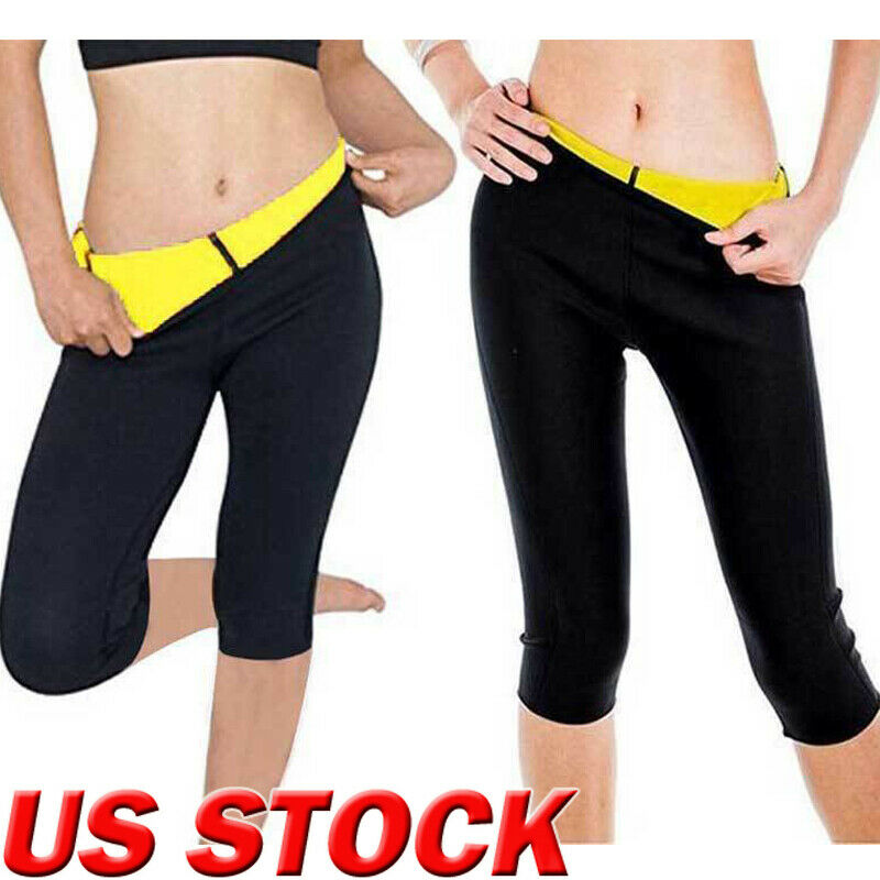 Hot Women Slimming Fit Thermal Pants Ladies Neoprene Weight Skinny Slin Flexible Body Shaper Sporty Tranning Gym