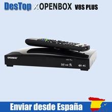 14pcs Original Openbox V8S PLUS Satellite Empfänger S V8 Unterstützung 2xUSB USB Wifi WEB TV Cccamd Newcamd Wetter prognose Biss Schlüssel