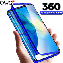 360 Luxury Phone Case For Huawei P20 P30 Lite Pro Mate 20 10 Lite Pro 20x Frosted Cover For huawei P20 nova 3 3i Full Protective(China)