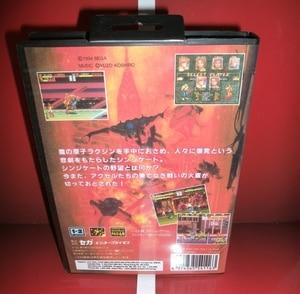Image 2 - Cartão de jogos md junta nua 3 japão capa com caixa e manual para md megadrive genesis console de jogos de vídeo 16 bit cartão md