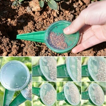 Seed Sower Garden Flower Plant Grass Dispenser Hand Tool Seeding Device