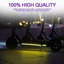Electric Scooter Durable Strip Light Foldable LED Light-Up Colorful Marquees For Xiaomi M365 Accessory