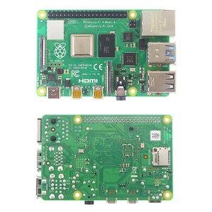 Image 2 - Original Raspberry Pi 4 Modell B Kit 2GB/4GB Aluminium Fall + Schalter Power Adapter + Micro HDMI Kabel + 32GB SD Karte für Pi 4 4B