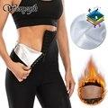 WENYUJH женские штаны для сауны, термо-пот, леггинсы для похудения, корректор живота, фитнес-трусики для тренировок, тренировочные шорты для тал...