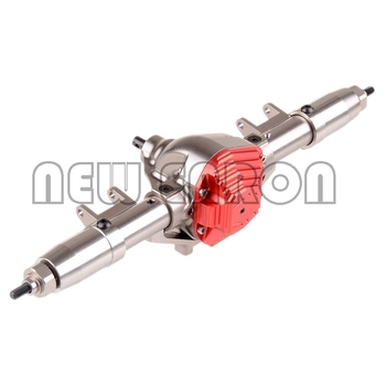 NEW ENRON CNC Aluminum Rear Axle Completed Assembly AX50007 For RC 1/10 1:10 Axial SCX10 Rock Crawler