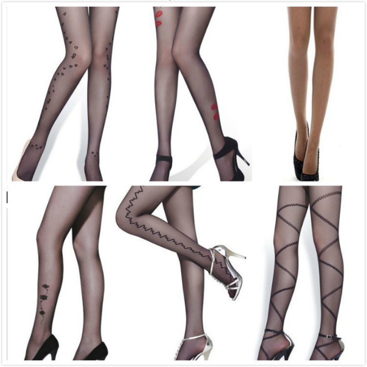Winter Women Sexy Tights/panty/knitting In Stockings Trousers Panty-Totem Fa-Tattoo Filar Socks JWS01