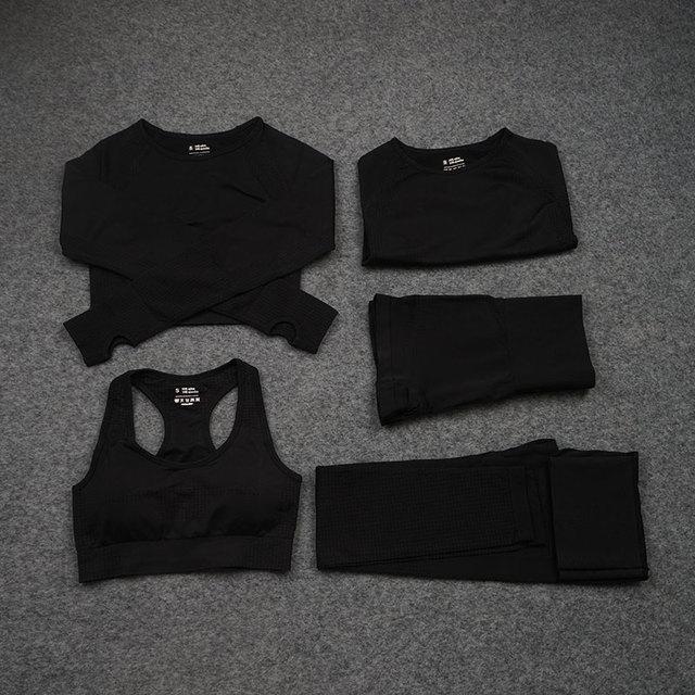 Black 5 pcs