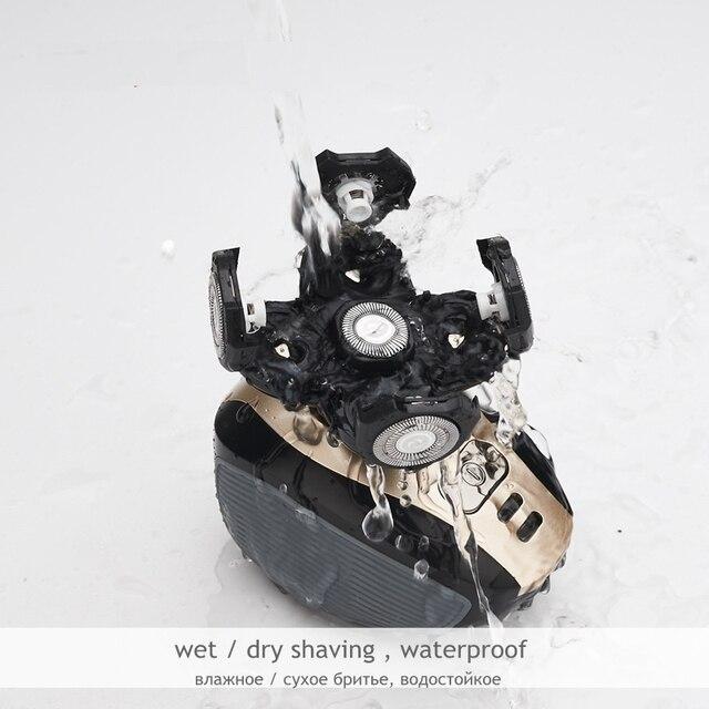 Ανδρική ηλεκτρική ξυριστική μηχανή πολυλειτουργικό κιτ περιποίησης