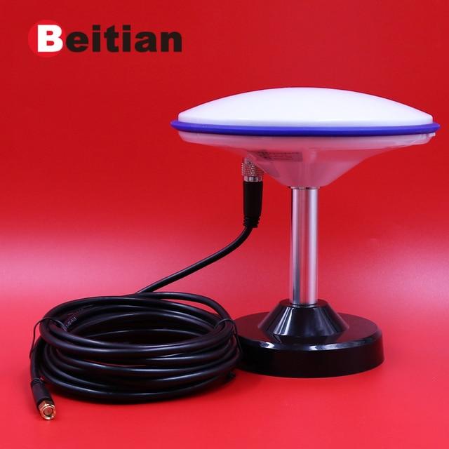 BEITIAN חדש 3 V 18 V מודול מקלט CORS RTK GNSS סקר אנטנה גבוהה דיוק גבוהה רווח גלילאו GPS GLONASS BEIDOU, BT 170 D SMA