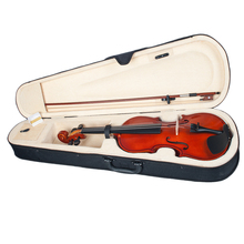 Polished Solidwood Acoustic Violin Fiddle Size 1/8 for Beginners Children