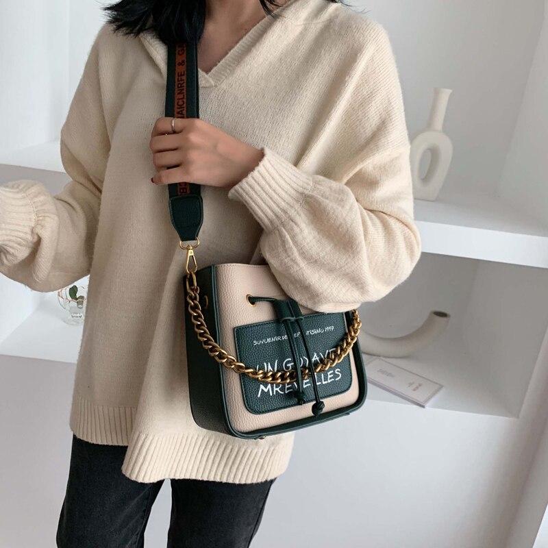 moda corrente bolsa mensageiro bolsa de ombro