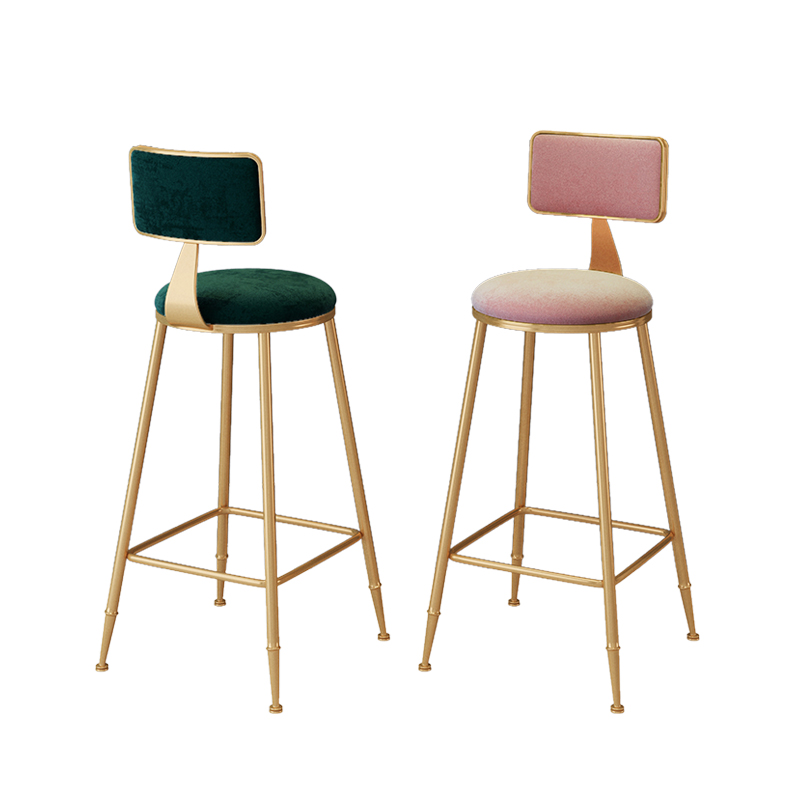 Nordic Dining Chairs Light Extravagant Cafe Chair Restaurant Chairs Living Room Furniture Metal Sandalye Vanity Chair Cheap