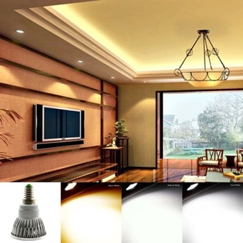 1pc GU10 85-265V 6W 9W 12W CREE COB LED Light Bulbs Spot Light Bulbs LEDs Replace 10W 30W 50W Halogen Light image