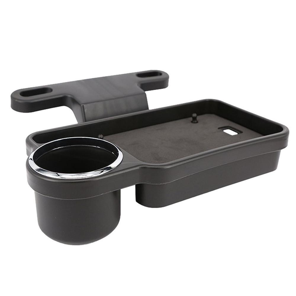 Car Seat Debris Box Snack Storage Bag Car Water Cup Holder Dining Table Car Seat Back Storage Car Supplies