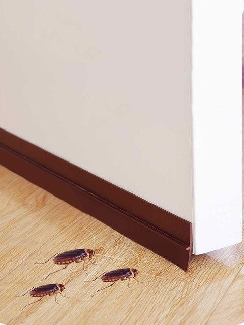 vanzlife bottom sealing strip self adhered door window sound insulation antivibration  Bedroom glass door moving windproof tape