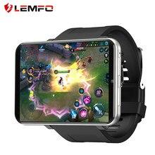 LEMFO – montre connectée LEM T 4G pour hommes, écran 2.86 pouces, Android 7.1, 3 go 32 go, caméra 5mp, résolution 480*640, batterie 2700mah