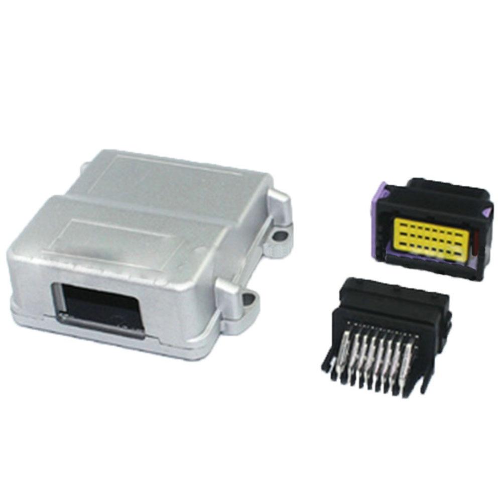 24pin Black Male Female ECU SET FCI ECU Generator Controller Modified Plug Circuit Connector With 24p Aluminum Box