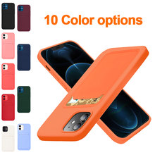 Originele Kaart Tas Zachte Siliconen Luxe Case Voor Apple Iphone 11 12 Pro Max Mini 7 8 Plus Xr X xs Shockproof Case Protector Cover