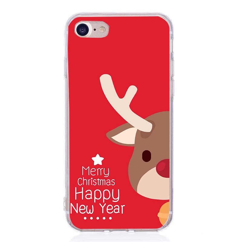 حقيبة لهاتف أي فون 6 S عيد ميلاد سعيد حالات جراب هاتف آيفون Xs MAX XR X 6 6s 7 8 plus جميل دامبو كاندي لينة غطاء خلفي من البولي يوريثان