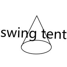 Ufo forma teepee árvore pendurado cadeira de balanço para crianças & adultos interior ao ar livre hamaca tenda pátio móveis