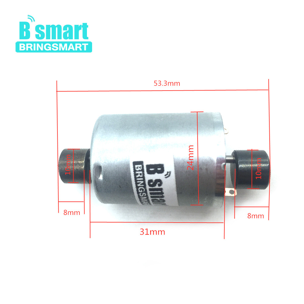 Bringsmart <font><b>12V</b></font> High Speed 6V <font><b>DC</b></font> Vibration <font><b>motor</b></font> <font><b>6000RPM</b></font> Strong Vibration For Micro Massage <font><b>motor</b></font> R370 Double Round Head image