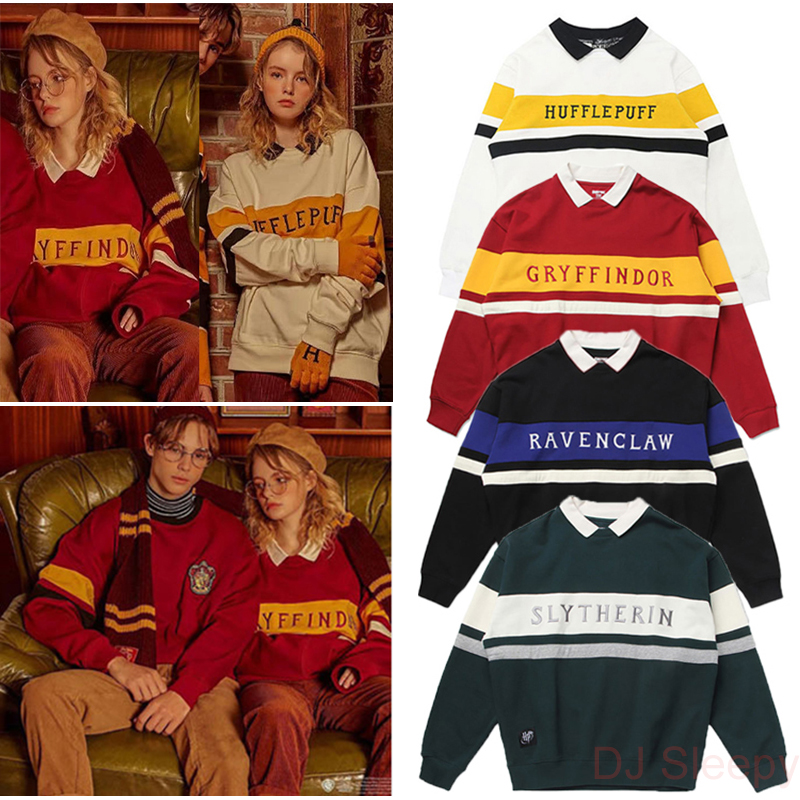 School Gryffindor Fashion Sweater Potter Couple Sweater Magic Uniform Ravenclaw College Quidditch Neckline Birthday Costume