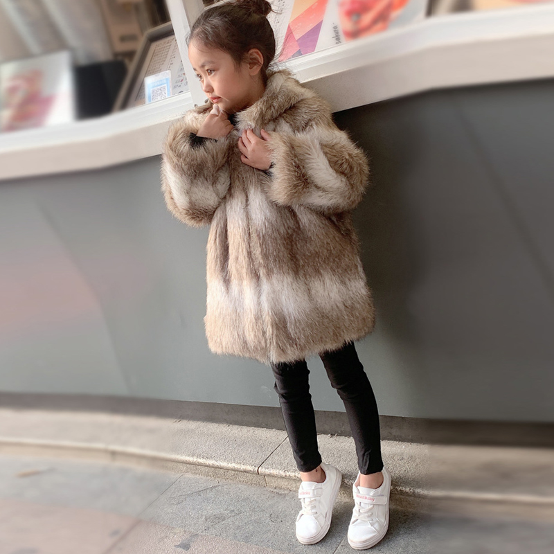 Winter Coat White Bottom Roblox New Winter Coat Children Mink Fur Coat Jacket Button White Boy