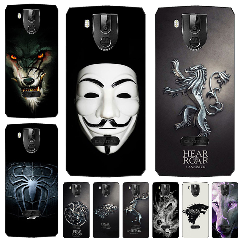 Soft silicone Cover <font><b>Cases</b></font> For <font><b>Oukitel</b></font> K10 <font><b>K3</b></font> Silicone Painting Phone <font><b>Case</b></font> For <font><b>Oukitel</b></font> K10 <font><b>K3</b></font> Soft Patterned fitted <font><b>Case</b></font> shell image